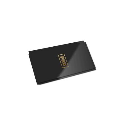 Cartão Duplo (178x48mm) - Verniz UV Total Brilho - 4x0 cores (SEM VERSO)