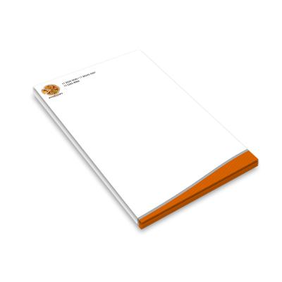 Papel Timbrado em Papel Off-Set 90g - 21x30cm - Blocos de 100 folhas