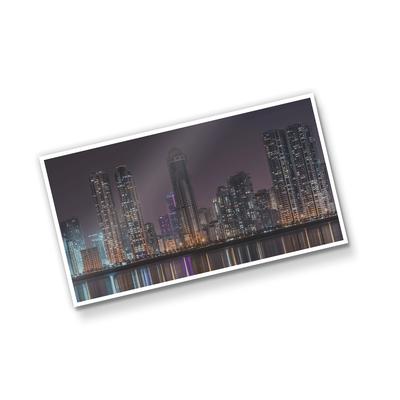 Postal Triplo (148x88mm) - Verniz UV Total Brilho - 4x0 cores (SEM VERSO)