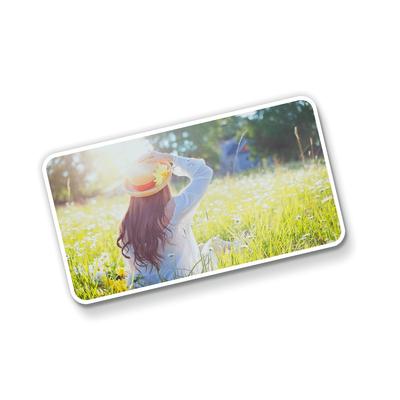 Postal Triplo (148x88mm) c/ 4 Cantos Arredondados - UV Total Brilho - 4x0 cores (SEM VERSO)