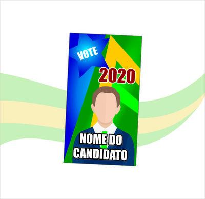 COLINHA Propaganda Política - 4X0 CORES ( FRENTE )