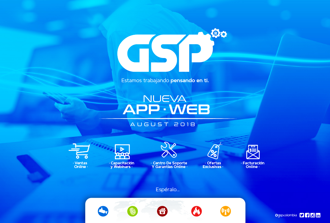 gsp web working