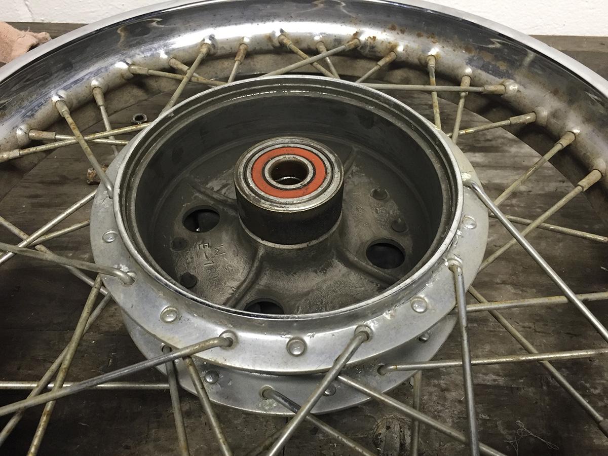 Honda CB 450 CB 500 K CB 550 K Oven Spoke Rear