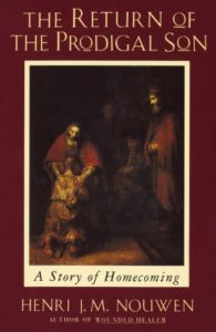 image of henri nouwen return of the prodigal son book cover