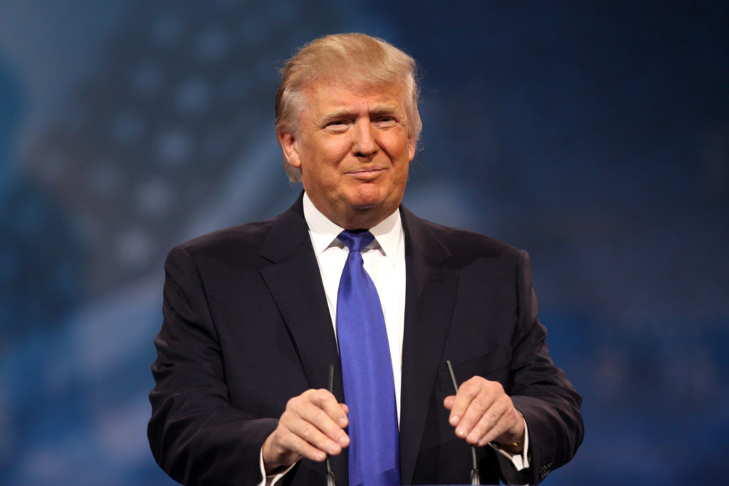 Image of Donald Trump by Gage Skidmore
