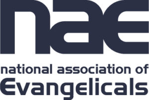 Image of National Association of Evangelicals logo (via Wikimedia Commons)
