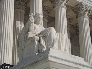 "image of statue ""contemplation of justice"""