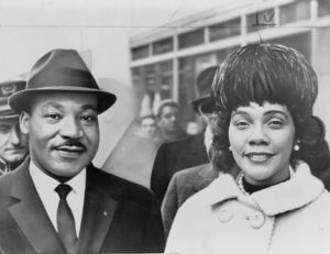 Image of Martin Luther King, Jr. and Coretta Scott King