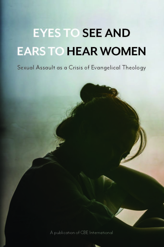 image of the book cover for eyes to see and ears to hear women