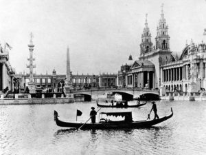 Photo of Gondolas at Chicago World Fair, 1893