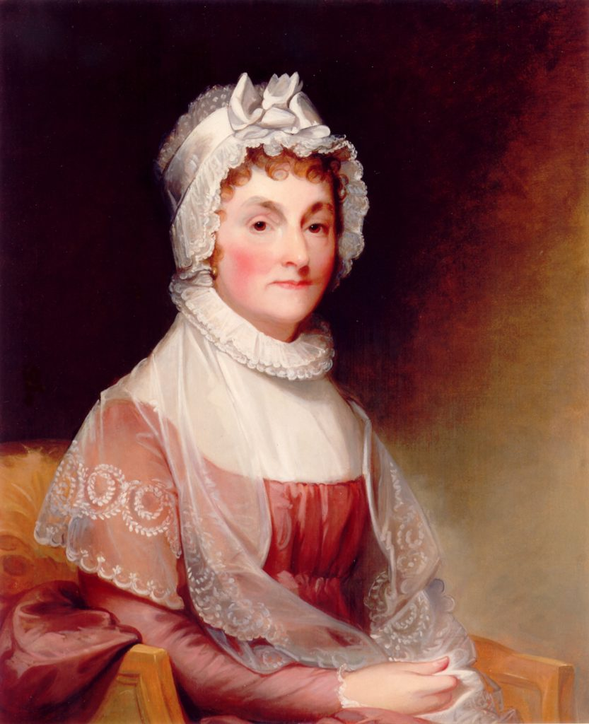 image of Abigail Adams, National Gallery (public domain)