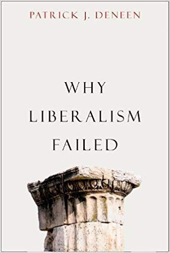 image of original book cover why liberalism failed