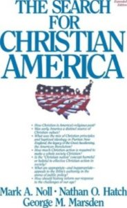 image of book cover search for a christian america