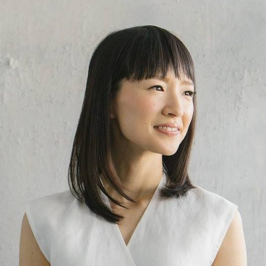 image of marie kondo via Facebook