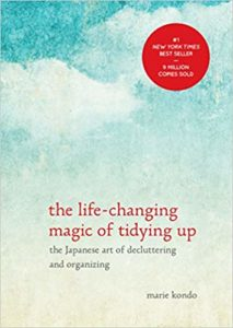 image of marie kondos book the life-changing magic of tidying up