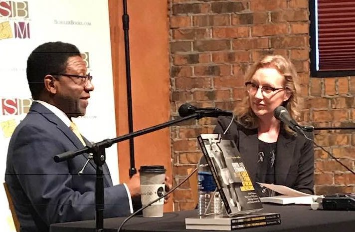 image of randal maurice jelks and kristin kobes du mez at schulers books and music discussion