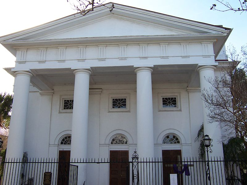 image of first baptist church, (First Baptist Church, Charleston South Carolina: Congregation 1682)