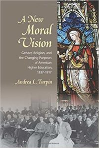 image of book cover for a new moral vision by andrea l turpin