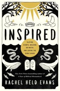 image of the book titled inspired - by rachel held evans