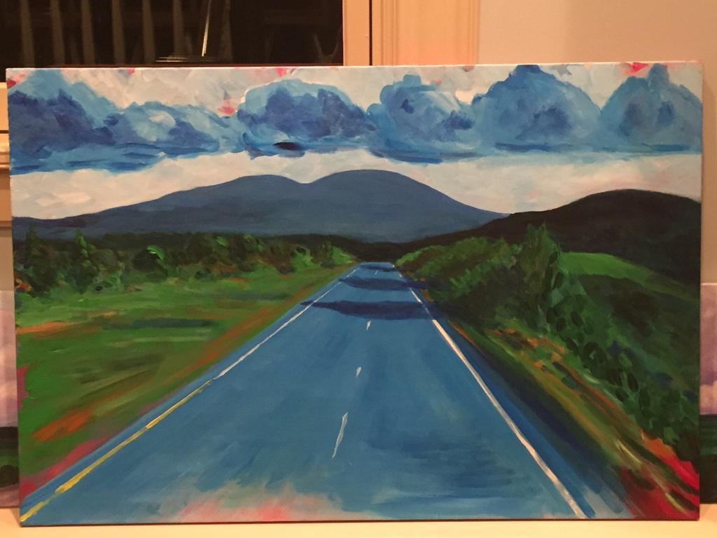 Riding the Blue Ridge Parkway