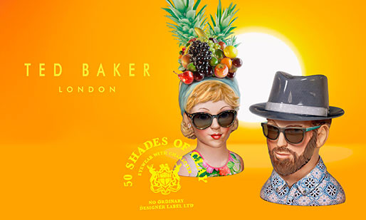 Ted Baker Sun Campaign 2014
