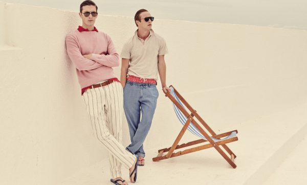 Hackett London Bespoke Campaign Image Sunglasses Summer
