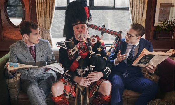 ALL ABOARD THE EXPRESS TRAIN: A JOURNEY TO THE HIGHLANDS WITH HACKETT