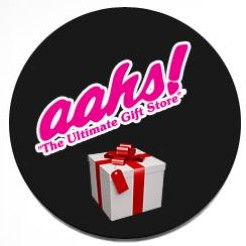 aahs gifts the halloween and novelty super store logo