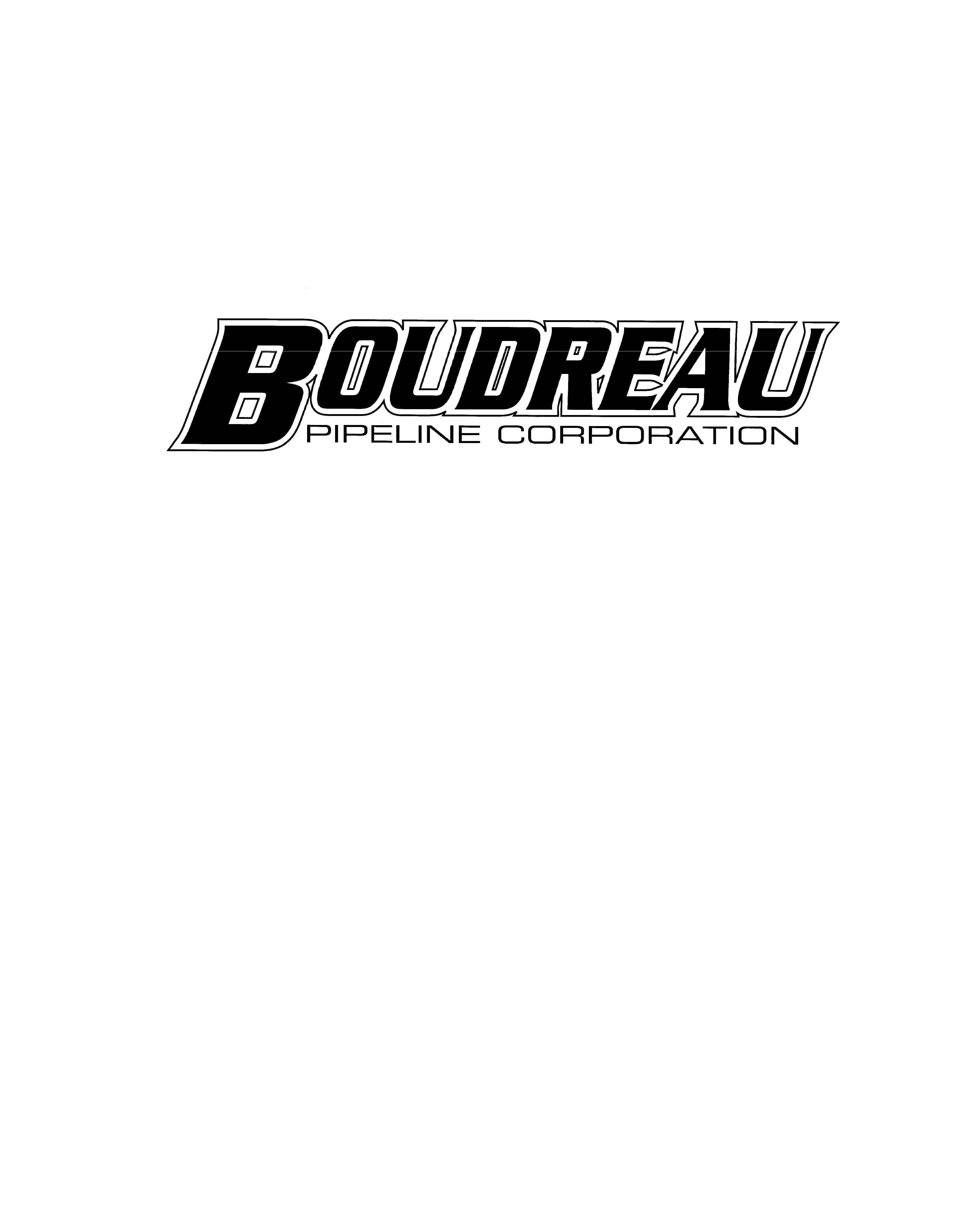 Boudreau Pipeline - Logo