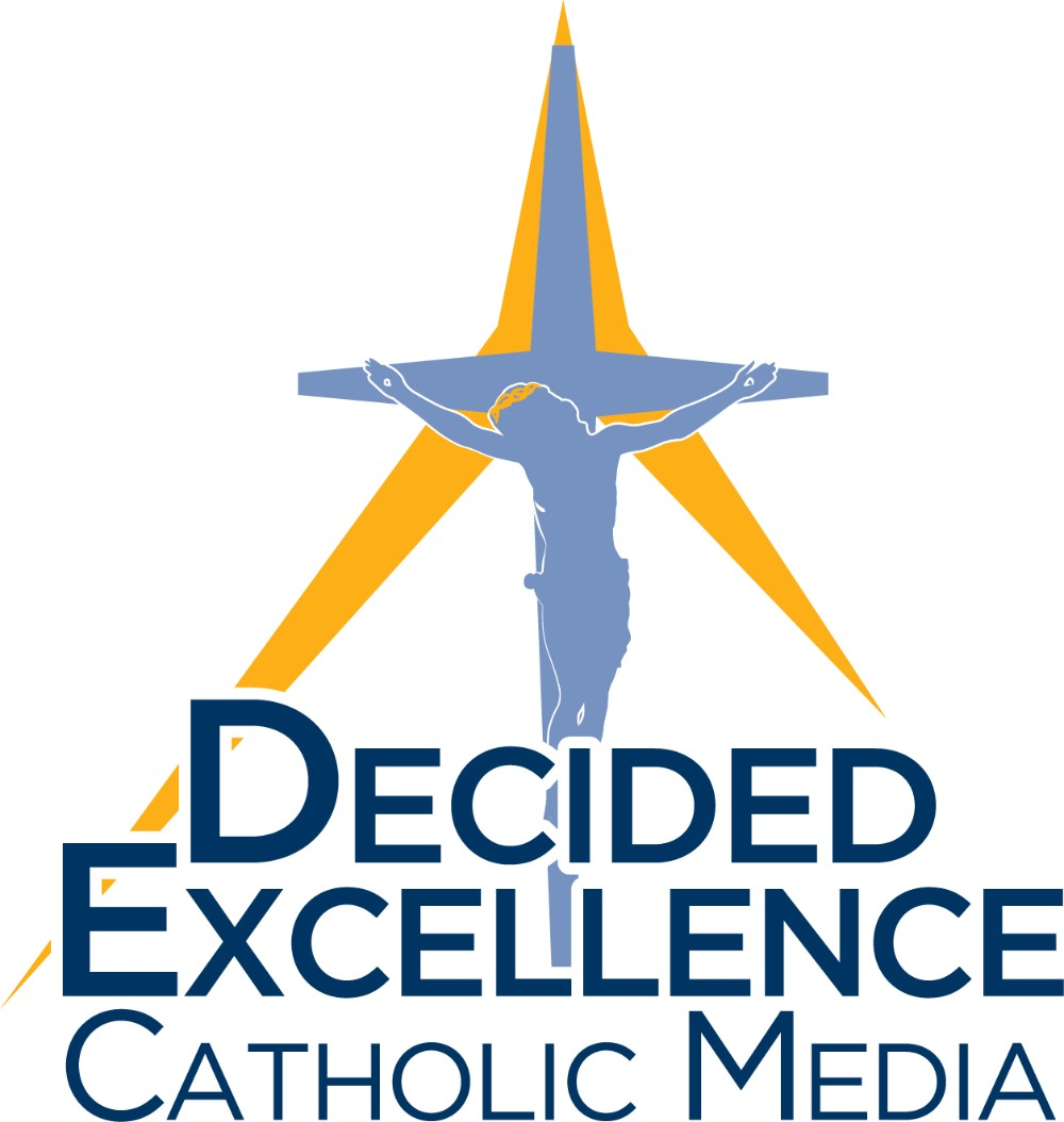 Decided Excellence Catholic Media - Logo