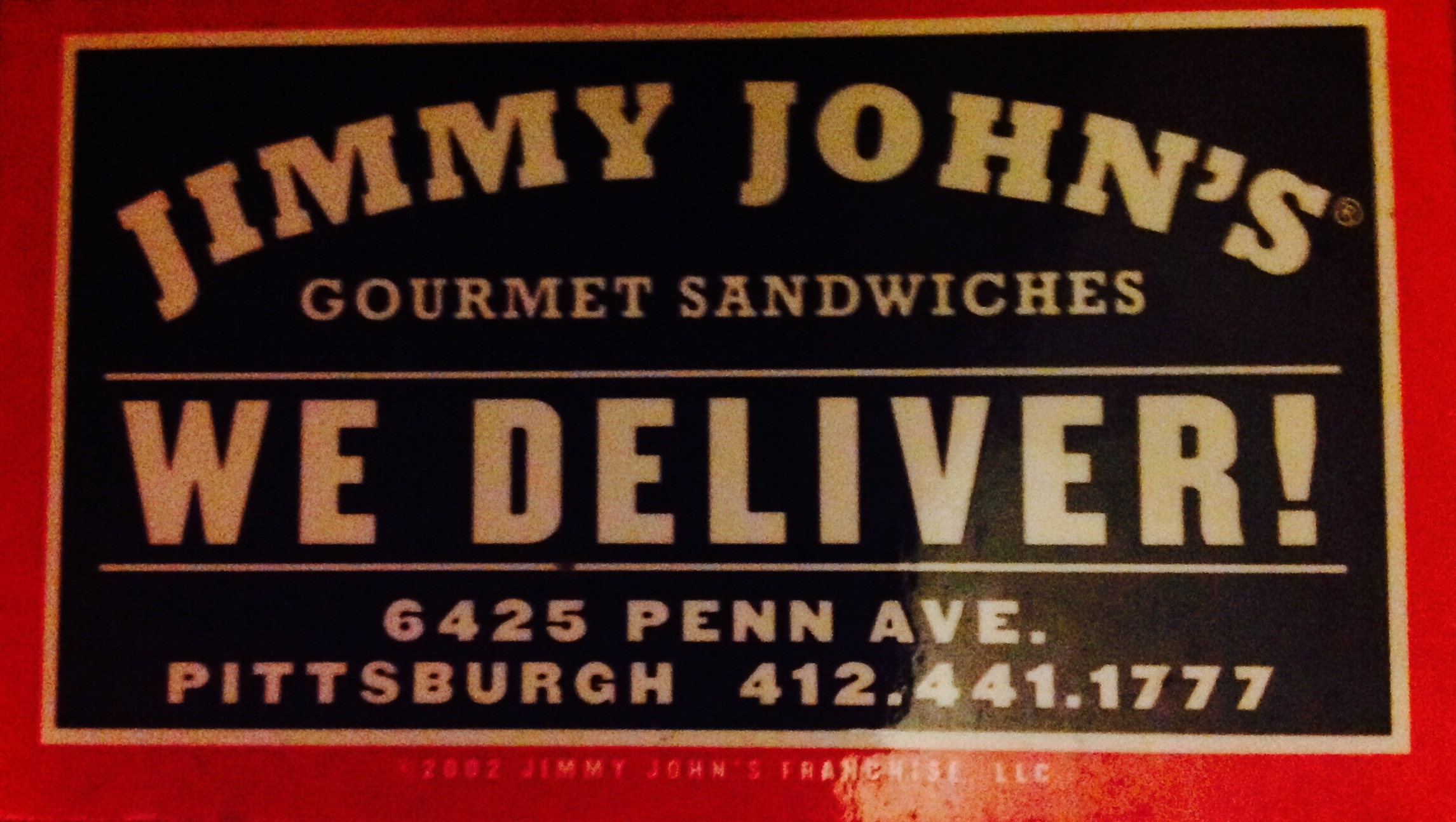 jimmy johns delivery drivers and in shop sandwich makers