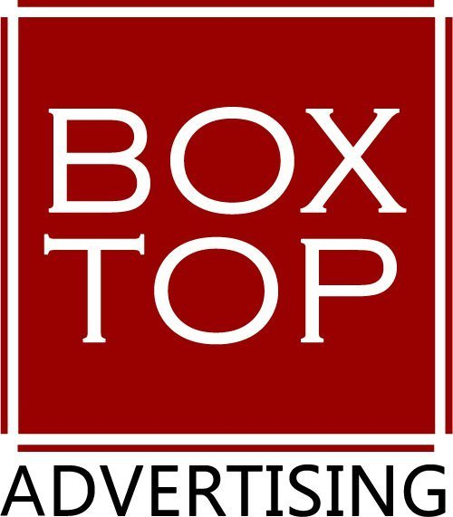 Box Top Advertising Logo