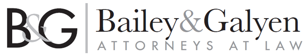 Bailey & Galyen Attorneys - Logo