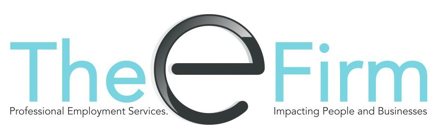 The E firm Logo