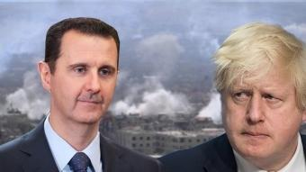 "Boris Johnson: El lema ""Assad debe irse"" es imposible de implementar"