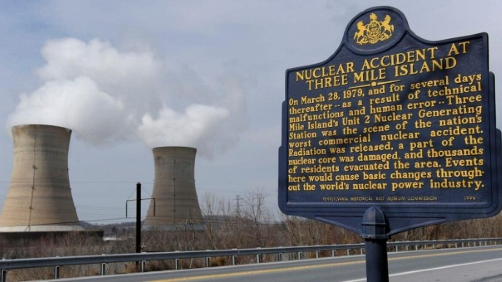 El accidente nuclear de Three Mile Island