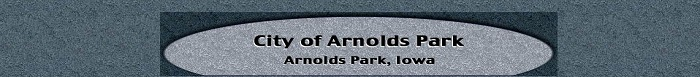 City of Arnolds Park, IA