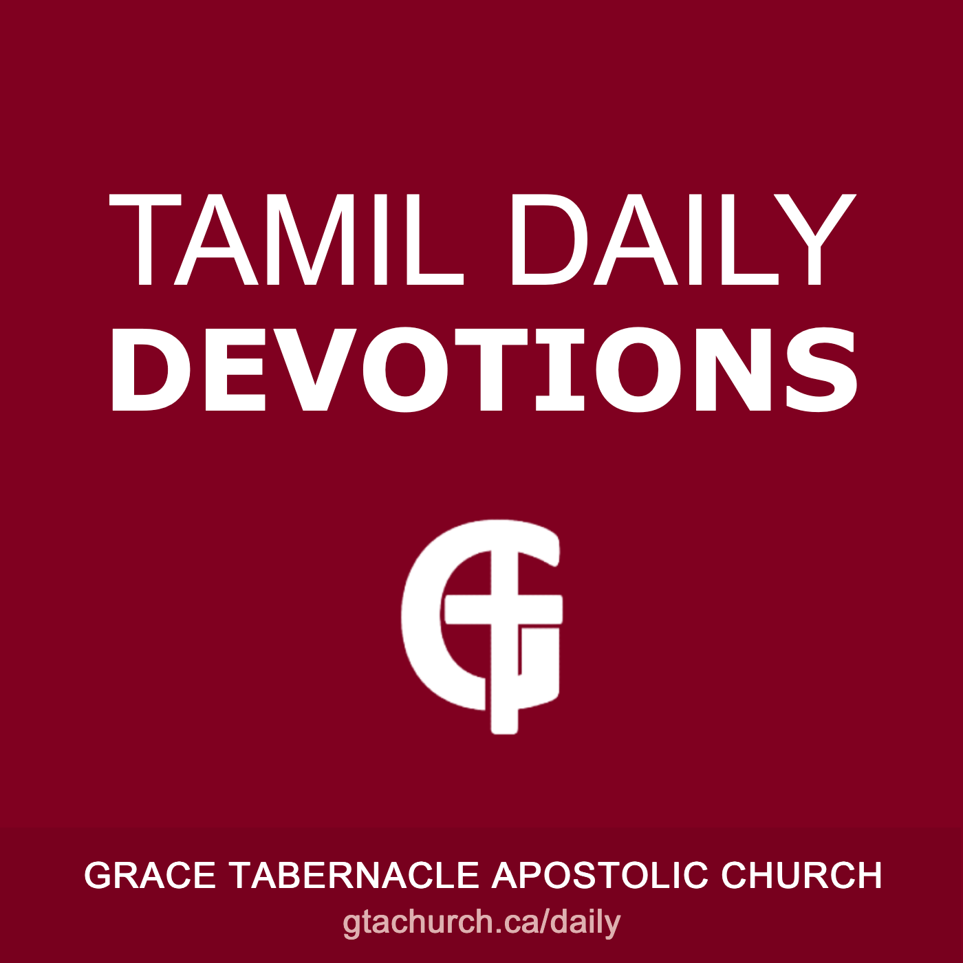 Tamil Daily Devotions Cover