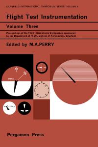Flight Test Instrumentation. Proceedings of the Third International Symposium 1964