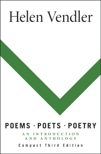 Vendler Poems Poets Poetry An Introduction And Anthology