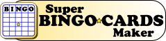 Super Bingo Cards Maker Logo