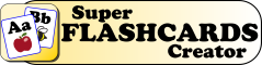 Super Flashcards Creator Logo