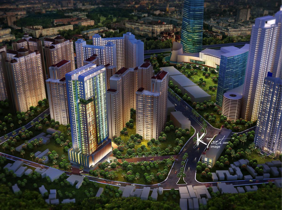 Apartemen Madison Park Di Jakarta Barat Jakarta Indonesia