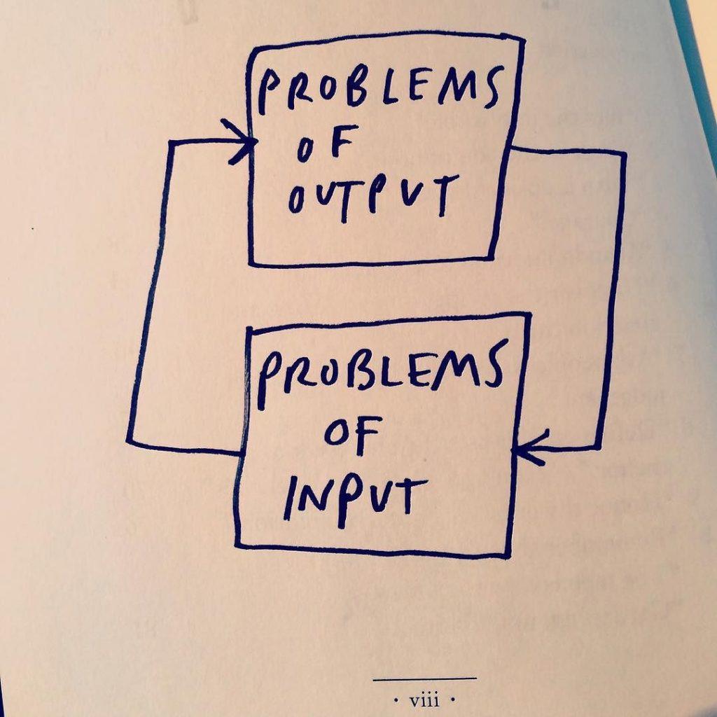 Problems of output - Austin Kleon (better)