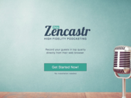 Zencastr_screenshot