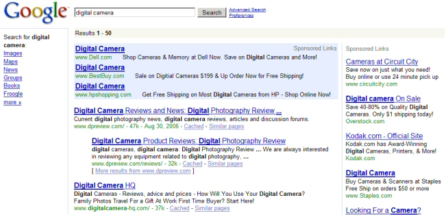 Google Pushes Vertical Search