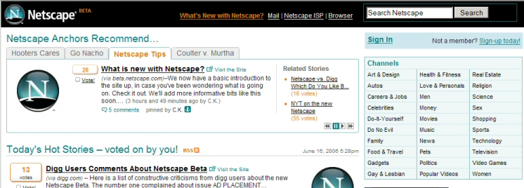 Netscape Beta