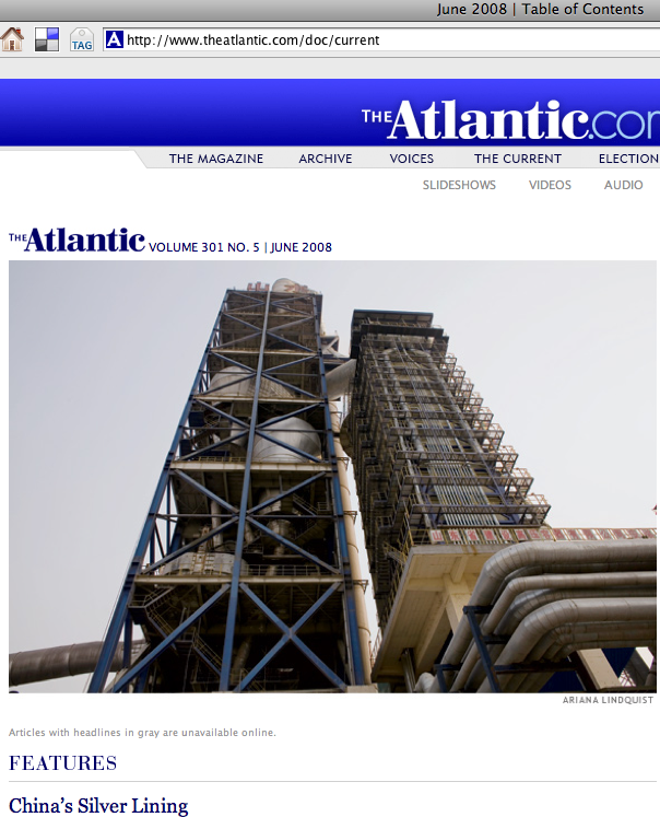 Atlantic June 2008