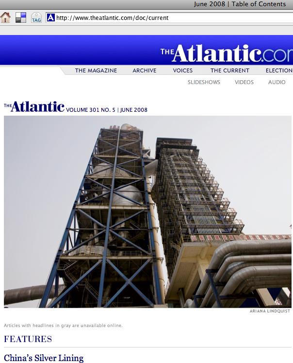 Atlantic June 2008