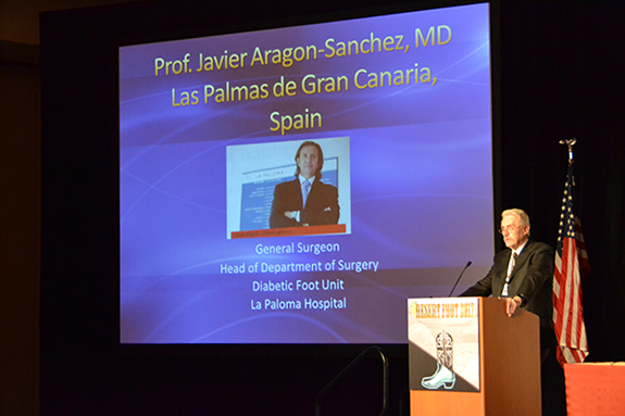 Prof. Javier Aragon-Sanchez, MD, PhD introduction
